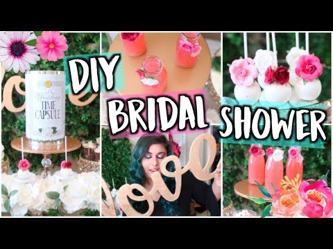 Throw a DIY Pinterest Bridal Shower! Decor, Treats + Gift Ideas!