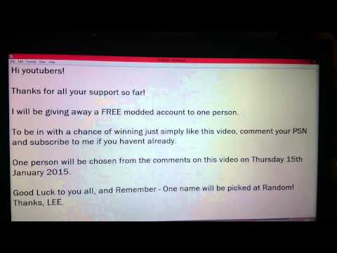 Ps3 account giveaway | Giving away free PSN account with games and