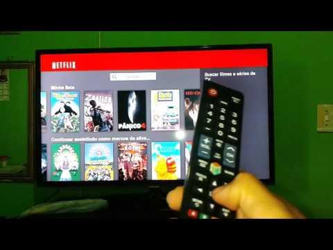 como sair da Netflix da TV Samsung Lg
