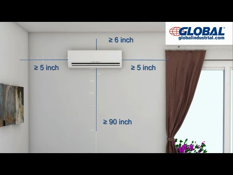 Global Ductless Mini Split Air Conditioner Installation v3