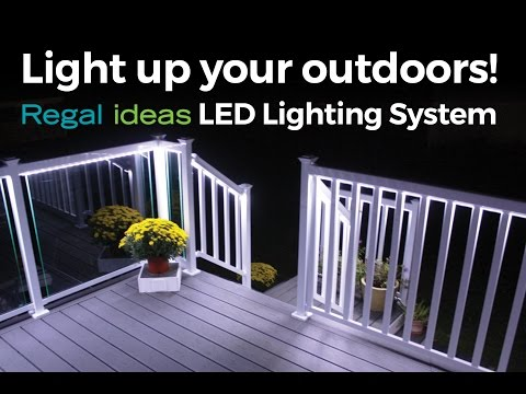 Light up your Outdoors with Regal ideas LED Lighting System!