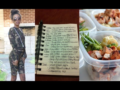 Journey to a bigger Bum- Meal Prep, Workout Clothes, Food Journal