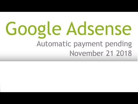 Should You Worry About Google Adsense Automatic Payment Pending