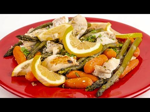 How to Cook Crockpot Fish With Fresh Asparagus