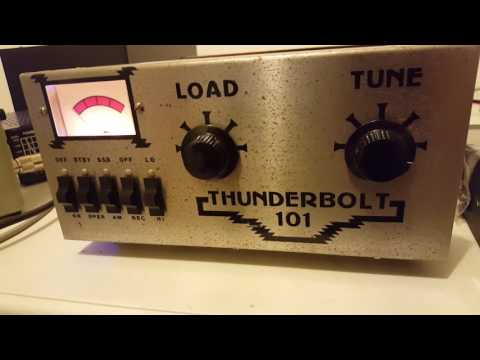 Thunderbolt 101 Vintage linear amplifier