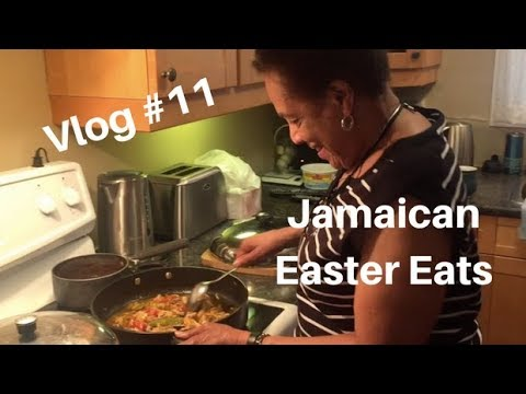 Vlog #11 | Jamaican Easter Food