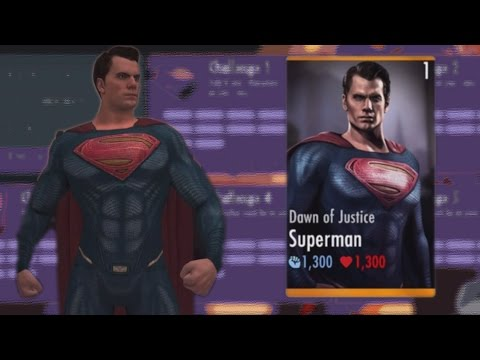 DAWN OF JUSTICE SUPERMAN CHALLENGE | Injustice Gods Among Us (iOS/Android)