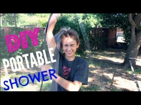 Living in A Van: Ultimate DIY Portable Shower | Hobo Ahle Gear