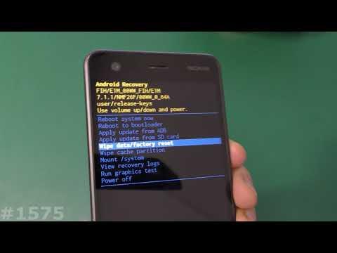 Hard Reset Nokia 2