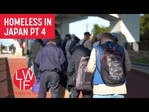 Meeting and Helping Japan's Homeless (Part 4)