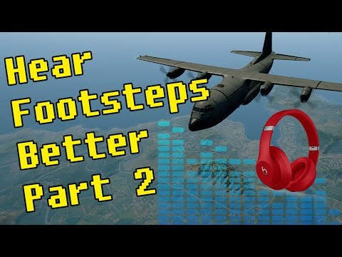 PUBG | How to Hear Footsteps Better Part 2
