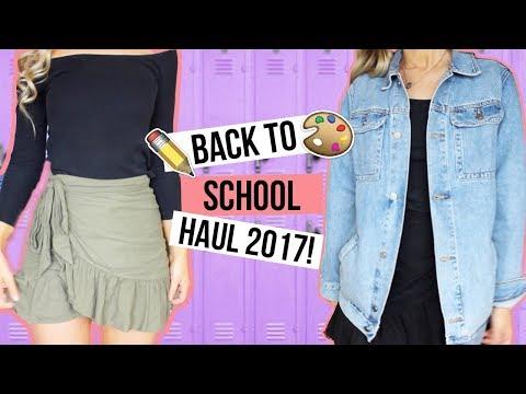 HUGE BACK TO SCHOOL TRY ON HAUL 2017 - Princess Polly, ASOS, MilkandBone + more