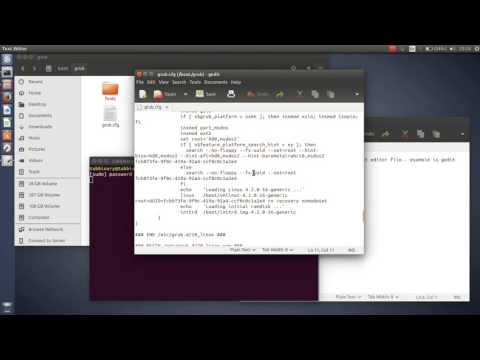 change menu order of grub linux ubuntu