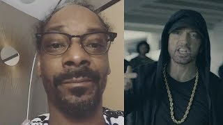 Snoop Dogg Reacts To Eminem BET Awards Freestyle