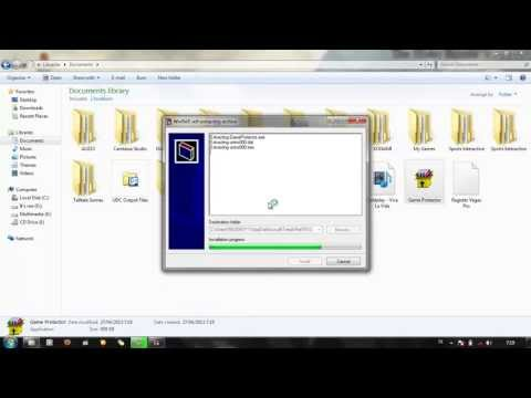 How to Make a Portable App using WinRAR [HD]
