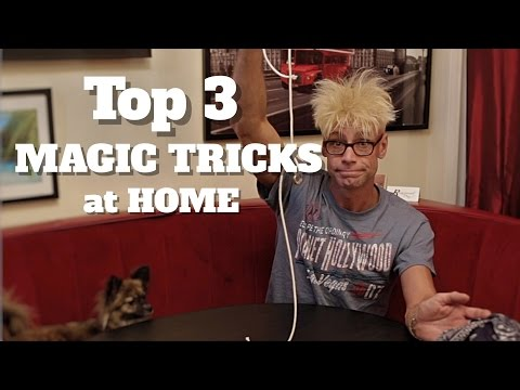 Top 3 Tricks To Impress Your Friends (with everyday objects!)