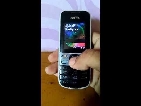 How to break nokia x2 phone security code -