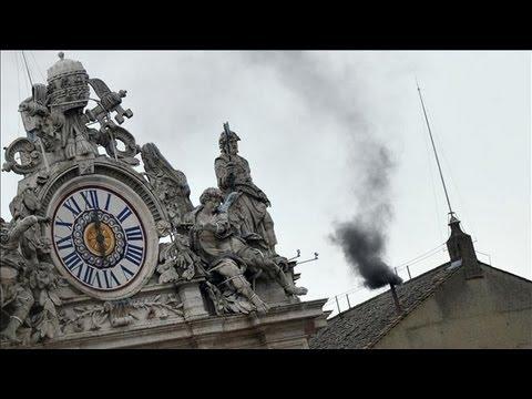 Black Smoke: No Pope Chosen Wednesday Morning