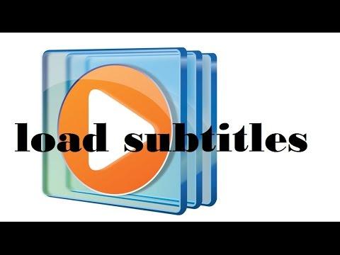 How to Load subtitles Windows media player windows 7,8,10