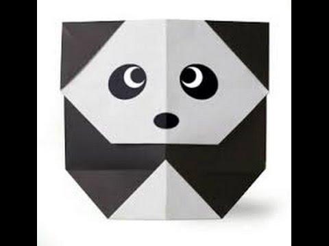 How To Make An Easy Origami Panda Bear