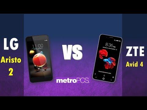 LG Aristo 2   VS ZTE Avid 4 -  metroPCS