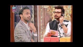 """Faysal Qureshi ,Waseem Badami, Faizan & Aadi playing """"Jagha Khali Hay"""""""