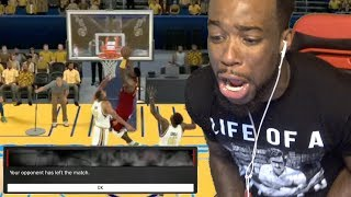 MADE TRASH TALKER RAGE QUIT! PINK DIAMOND PATRICK EWING! UNSTOPPABLE! NBA 2K17 Gameplay