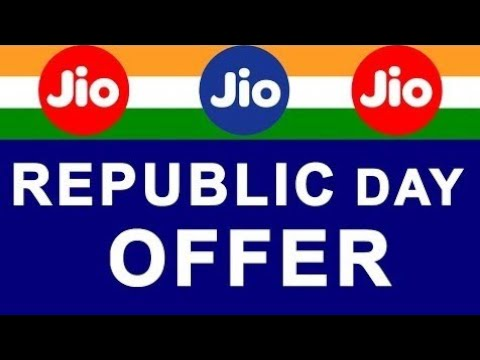 JIO Republic day offer 26 January 2018 || Get 1.5Gb data at 1 gb money || jio get 500 mb extra net