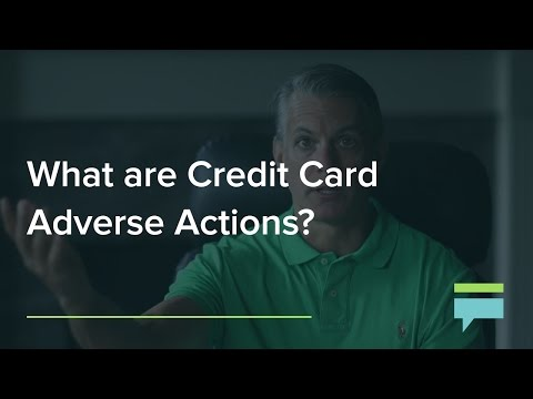 What Are Credit Card Adverse Actions? – Credit Card Insider