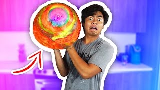 DIY How To Make GIANT BOUNCY BALL!