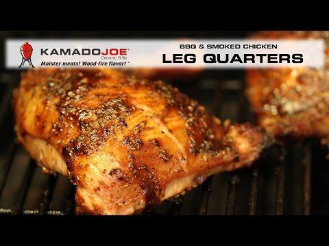 Kamado Joe BBQ Smoked Chicken Leg Quarters