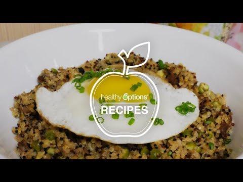 Adobo Fried Egg and Quinoa