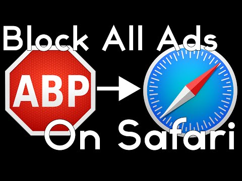 Adblock Plus — Safari | Remove Youtube Ads!