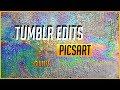 how to: TUMBLR EDITS con PicsArt   GIULIFE