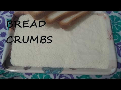 How to make Perfect Bread Crumbs at Home/Bread Crumbs Recipe Without Oven/Easy and Fast Method