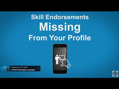 Missing LinkedIn Skill Endorsements