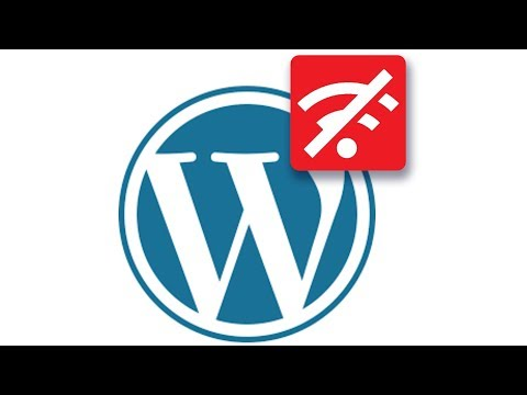 How to use WordPress offline