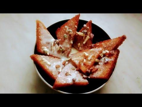 Milkmaid shahi tukda/bread pudding