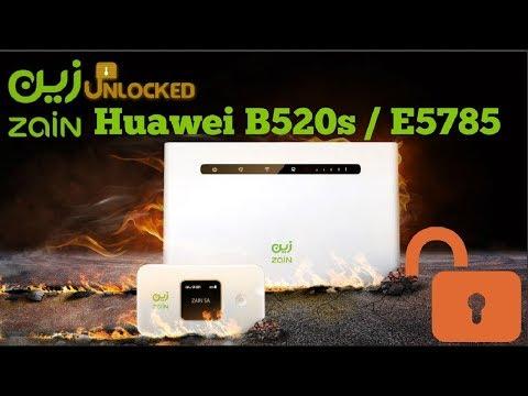 How To Unlock Huawei Zain B520s 93a LTE Cat6 - Free Solution