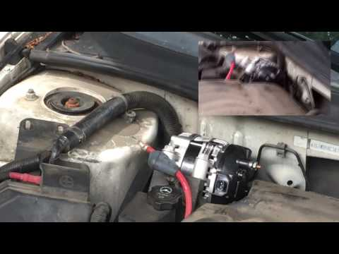 How To Change The Alternator In A 2006- 2012 Impala ss
