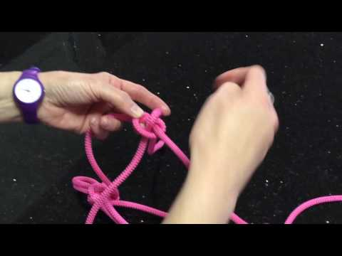 How to make a rope halter - part 2 noseband knot problem solved.
