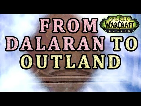 How to get from Dalaran to Outland WoW