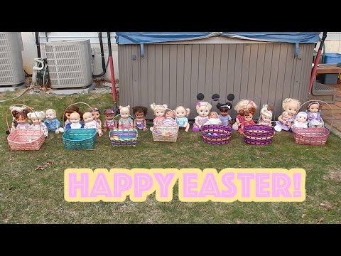 Baby Alive Easter Egg Hunt 2017! Hapy Easter!