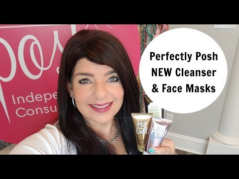 PERFECTLY POSH NEW CLEANSER AND FACE MASKS FALL 2017