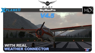 [X-Plane] SkyMaxx Pro v4.5 with Real Weather Connector for X-Plane 11