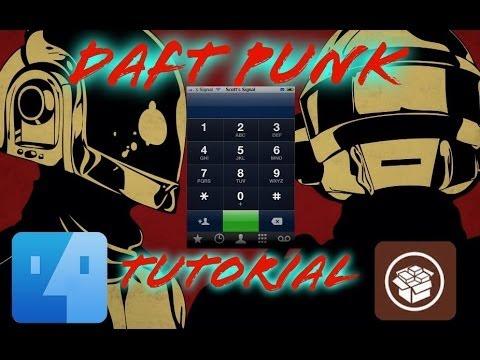 Daft Punk dial tone Tutorial! (IOS 7-IOS6, iPhone 5s-iPhone 3G)