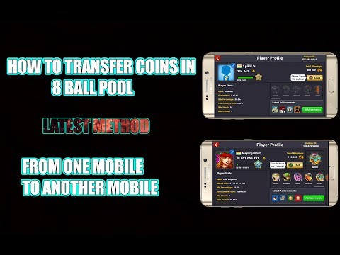 How To Transfer Pool Online Game Coins In Mobile 8 Ball Pool