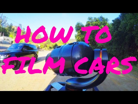 How to Film A Cool Car Commercial!