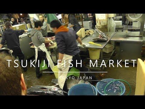 Japan,Tokyo -  Tsukiji Fish Market (2018)