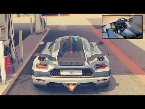 Koenigsegg  One:1 - Forza Horizon 3 (Steering Wheel + Shifter) Gameplay
